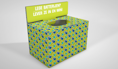 Batterij Bewaarbox