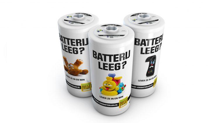lege batterijen inleveren
