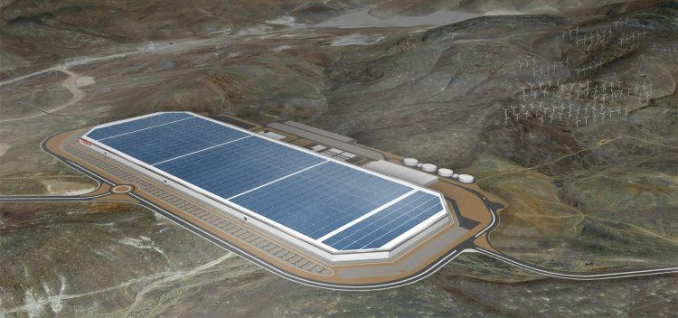 Batterijfabriek Tesla