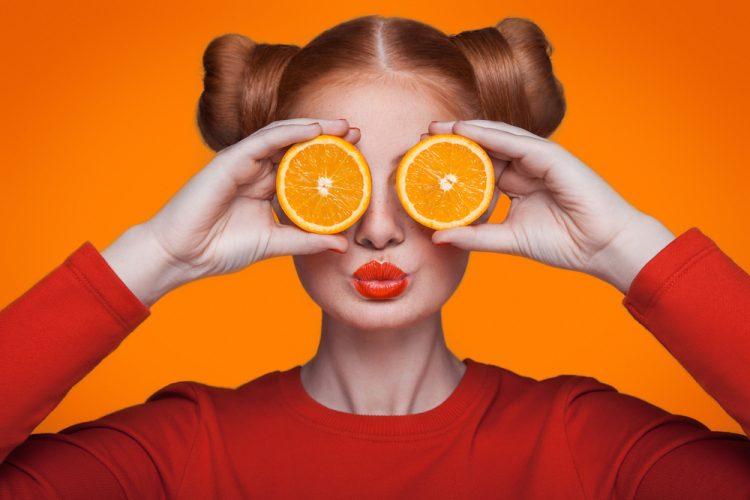 stroom uit sinaasappels