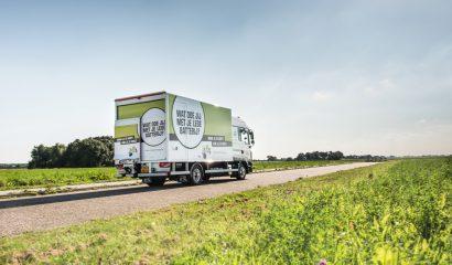 Hoeveel Stibat-vrachtwagens halen de lege batterijen op?