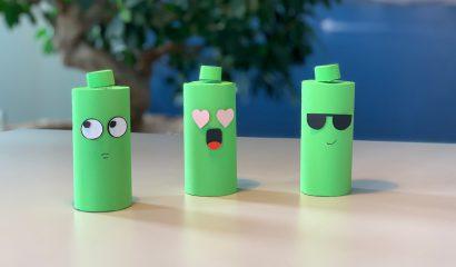 Maak je eigen batterij emoticon