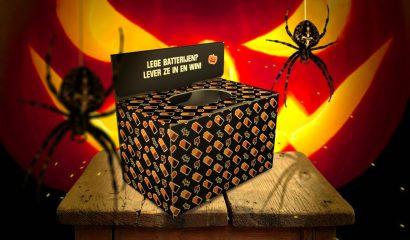 Prijswinnaars Batterij Bewaarbox Halloween-limited edition