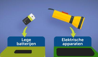 Nationale Recycleweek 2020: wat doe ik met de batterijen?